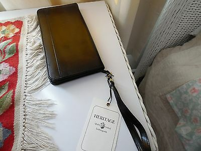 Leather Travel Document Case