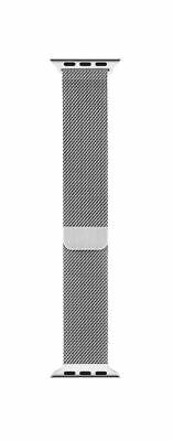 Genuine Official Apple Milanese Loop Strap for Apple Watch 38mm MJ5E2ZM/A SILVER