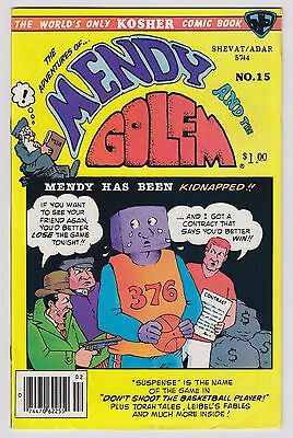 The Adventures Of Mendy And The Golem Issue #15 Kosher Comic May 1984 Fine Cond