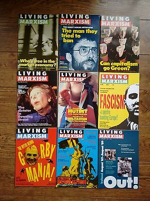 Living Marxism - 40 issues - 2-23, 25, 27-31, 33-39, 41, 46, 48-50 Jeremy Corbyn