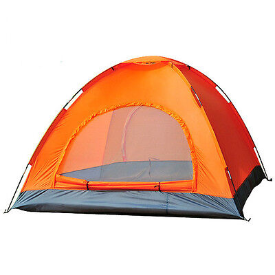 4 Man Person Camping Tent Waterproof Room Outdoor Hiking Backpack Fishing