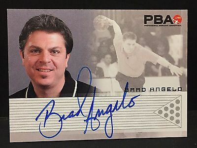 BRAD ANGELO 2008 Rittenhouse PBA Bowling AUTOGRAPH On Card Pack Pulled AUTO