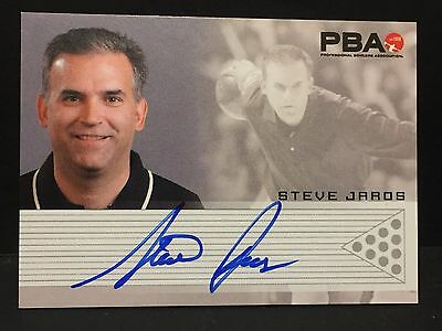 STEVE JAROS 2008 Rittenhouse PBA Bowling AUTOGRAPH On Card Pack Pulled AUTO