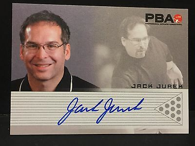 JACK JUREK  2008 Rittenhouse PBA Bowling AUTOGRAPH On Card Pack Pulled AUTO Card