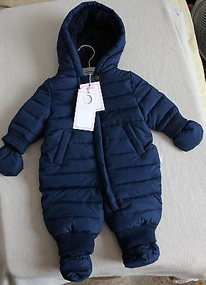 Pumpkin Patch NB Snow Suit with Mittens & Booties NWT