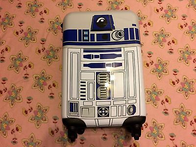 Brand New with Tags Star Wars R2-D2 Carry-On Luggage / R2D2 / Disney