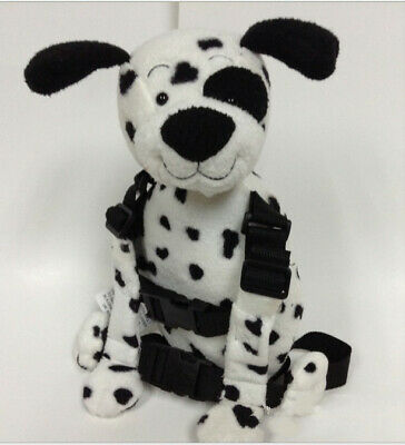 Safety Harness Strap Baby Kids Toddler Walking Backpack Reins Puppy Dalmatians