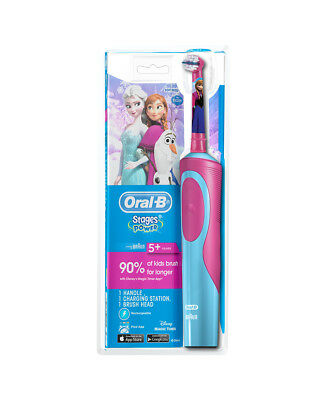 New Oral B Stages Kids Disney Frozen Electric Toothbrush 80281986
