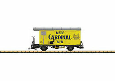 LGB - 40284 Gedeckter Freight Wagon GK Card G SCALE