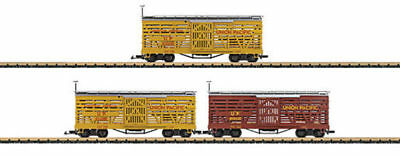 LGB - 48681 - UP Stock Car Set /3 G SCALE