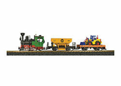 LGB - 70403 Freight Starter Set with Sound and Smoke G SCALE