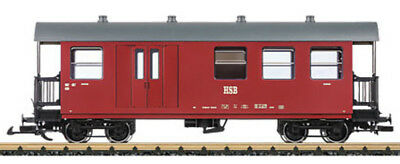 LGB - 37710 Passenger and Baggage Car HSB G SCALE