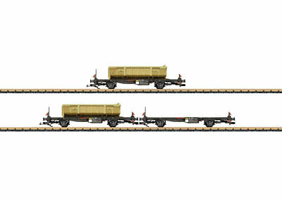 LGB - 47899 Freight Containner Wagon -Set RhB G SCALE