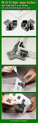 PROSES - PR-SS-03 - Hold & Glue! Right Angle Holders fo Kit Buildings (2 in a se