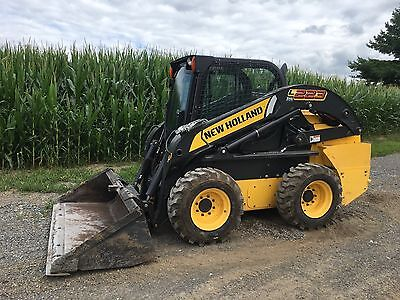 2014 New Holland L223 Skid Steer  Cab heat/ac, 345 hrs, VIDEO