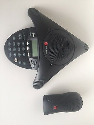 Polycom SoundStation2 w/ Wall Module- Non-Expandable Conf. Phone- 2201-16200-601
