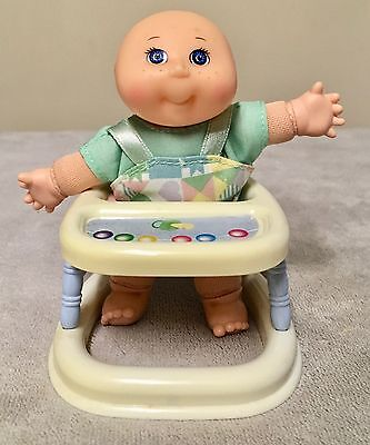 Cute Mattel 1996 Mini Cabbage Patch Baby Doll with Walker.