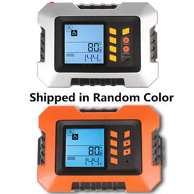 110V Smart 2A-12A Max 5.0L Car Battery 7-Stage Charger Analyser Tester LCD USB