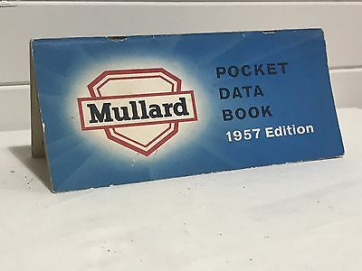 1957 Mullard Pocket Data Book. Radio Valve Equivalents