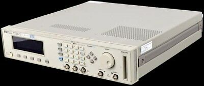HP/Agilent 8110A 150MHz Digital Variable Dual Channel Pulse Pattern Generator