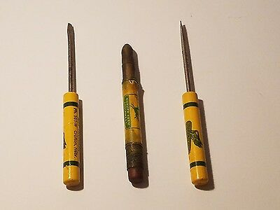 Vintage 30's-40's Advertising DeKalb Corn Pieces John Deere Bullet Pencil