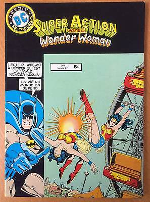 ► Super Action - Wonder Woman N°6 - Aredit Dc 1980