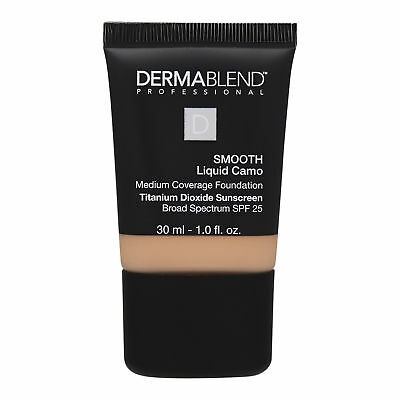 Dermablend Smooth Liquid Camo Medium Coverage Foundation 30ml Makeup Camel 30N