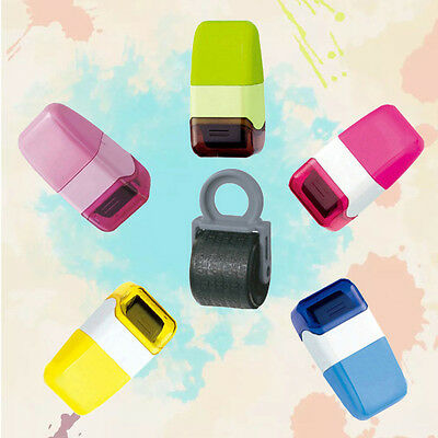 1Pcs Guard Your ID Roller Stamp SelfInking Seal Stamp Messy Code Security Office