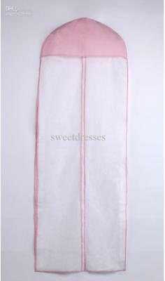 2016 Free Shipping Pink White Dust Bag for Wedding Dress prom evning party moth
