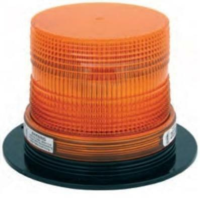 Truck-Lite 80853 Low Profile Strobe Lamp, 12 V, Amber