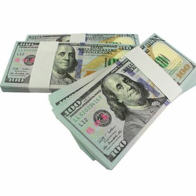 Childrens Kids Play Fake Pretend Money Role Shops Cash $ Dollar Notes Coins Toy