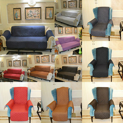 Waterproof 1/3-Seater Couch Stretch Sofa Seat Lounge Protector Cover Slipcover