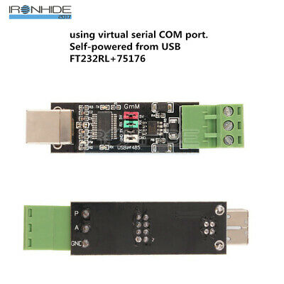 USB to TTL RS485 Serial Converter Adapter FTDI interface FT232RL 75176 Módulo
