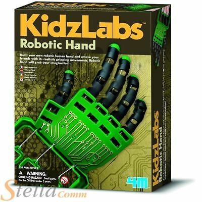 4M Kidz Labs Robotic Hand Build Your Own Science Nature Educational Toy