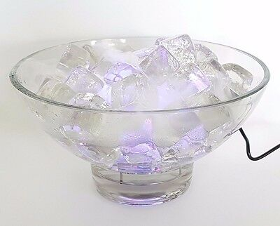 Wisp of Mistique - Indoor Water Feature Ice Bowl & Mister - COLOUR CHANGING