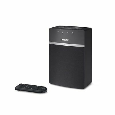 Bose SoundTouch 10 Wireless (Bluetooth/Wi-Fi) Speaker System - Black - Free P&P