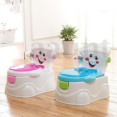 1Pc Portable Training Toilet Seat Baby Potty Toddler Chair Kids Urinal Trainer