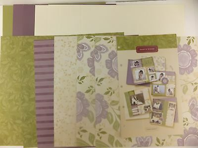 CTMH Promise of Spring Heart of Winter Project Pack 12x12 Paper Pack