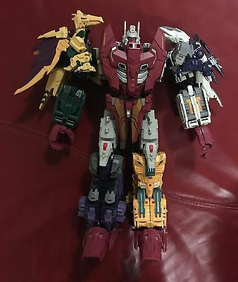 Transformers Unique Toys Ordin Full Set Used MIB Boxed Complete