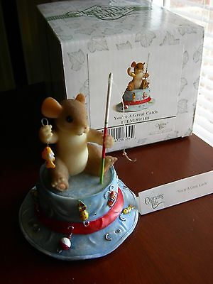 """Charming Tails Collectable-""""You're A Great Catch"""" -Fishing"""