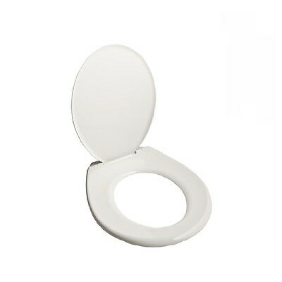Caroma Toilet Seat Multi Fit White Rapid Fit Pan Cover Deluxe / Universal Fit