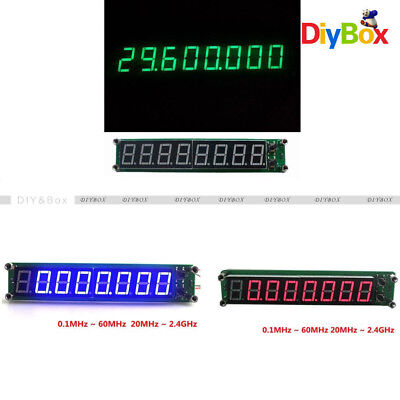 RF Signal Frequency Counter 0.1-60MHz 20MHz~2.4GHz Cymometer Tester LED Display