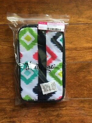 NEW Thirty One Glamour Case Candy Corners - Toiletries Cosmetic Travel Vacation