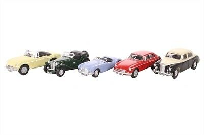 5 piece MG automobile Set 76SET42 OO 1:76 Oxford Die-cast England