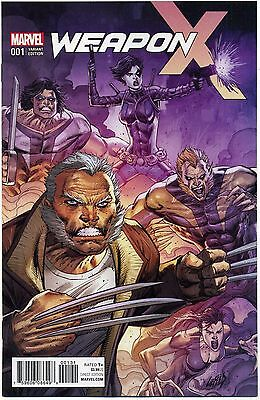 WEAPON X #1 Variant 1:50 Rob Liefeld Wolverine X-23 Marvel Comics Rare HTF NM