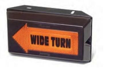 Truck-Lite 81009 40-Series Left Hand Wide Turn Sealed Lamp, 12 V