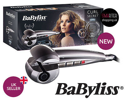 Genuine Babyliss CURL SECRET C1200E Ionic HAIR STYLER CURLER