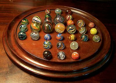 Marbles And 19Th Century Mahogany Stand English Regency