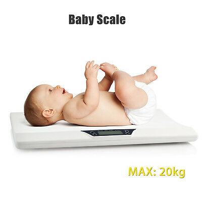 Newborn Baby Infant Scale Weight Toddler Grow Meter Digital LCD Display Durable
