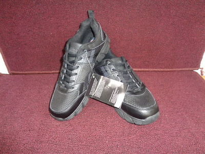 New Men's Dickies Avalon Slip Resistant Round Toe Athletic Work Shoes  Black 42T
